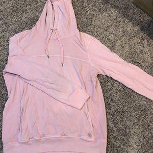 Mens pink washed American Eagle hoodie